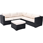 more details on Rattan Effect 5 Seat Patio Furniture Sofa Set.