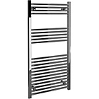 more details on Straight Towel Radiator 120 x 60cm - Chrome.