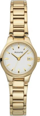 Accurist Ladies' Gold Plated Bracelet Watch