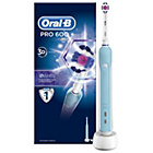 more details on Oral-B Pro 600 White&Clean Rechargeable Electric Toothbrush.
