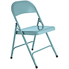more details on Habitat Macadam Blue Metal Folding Chair.