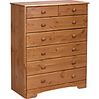 more details on HOME Nordic 5+2 Drawer Chest - Pine.