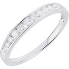 more details on 18ct White Gold 0.25ct tw Diamond Eternity Ring.