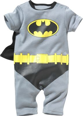 Batman Baby Boys' Dress Up Romper - 6-9 Months