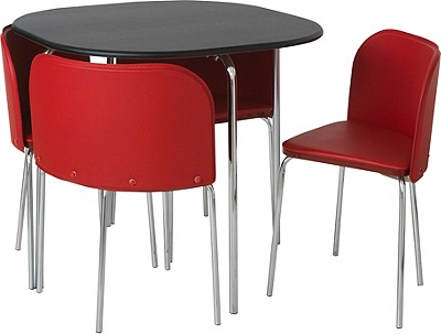 Buy Hygena Amparo Dining Table and 4 Chairs BlackRed at  : 1447569RZ002AUC1537669fmtpjpgampwid570amphei513 from www.argos.co.uk size 570 x 513 jpeg 51kB
