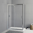 more details on Eliana Linden 1200x800mm Sliding Shower Enclosure with Tray.