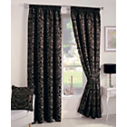 more details on Crompton Lined Curtains 168x183cm - Black.