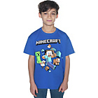more details on Minecraft Boy's Blue T‑Shirt.