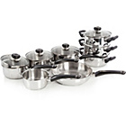 more details on Morphy Richards Equip 8 Piece Pan Set - Stainless Steel.