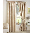 more details on Crompton Lined Curtains 117x137cm - Natural.