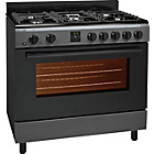 more details on Bush AGE96RA Range Cooker- Anthracite.