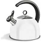more details on Morphy Richards Accents Whistling Stove Top Kettle - White.