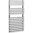 more details on Flat Bar Towel Radiator 120 x 50cm - Chrome.