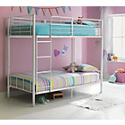 more details on Maddison Single Bunk Bed Frame - White.