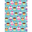 more details on Cupcake 4 Metre Gift Wrap.
