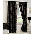 more details on Crompton Lined Curtains 168x229cm - Black.
