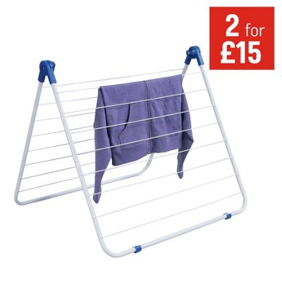 buy minky 20m wide dry trio indoor clothes airer at argos. Black Bedroom Furniture Sets. Home Design Ideas