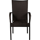 more details on Lima 4 Seater Patio Furniture Dining Set - Black.