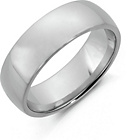 more details on Sterling Silver Heavyweight Wedding Band - 7mm.