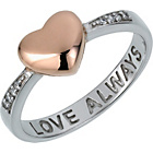 more details on Sterling Silver 'Love Always' Heart Ring.