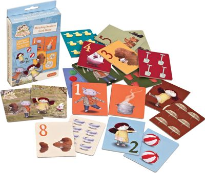 Abney & Teal Mix and Match Game Cards
