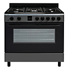 more details on Bush AGE96RA Range Cooker- Anthracite/Ins/Del/Rec.