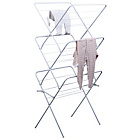 more details on ColourMatch 15m 3 Tier Indoor Clothes Airer - Super White.