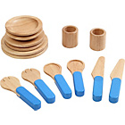 more details on Voila Pretend and Play Wooden Tableware Toy.