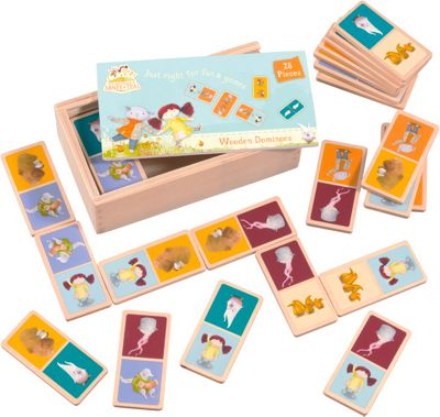 Abney & Teal Wooden Dominoes