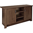 more details on Collection Ohio 2 Door TV Unit/Low Sideboard - Walnut Effect