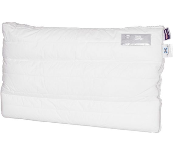 Buy Sealy Posturepedic Zonal Pillow Soft At Argos Co Uk