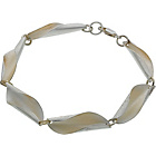 more details on Burkmar Sterling Silver Shell Repeat Link Bracelet.