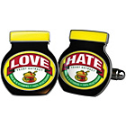 more details on Mustard Marmite Cufflinks.