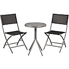 more details on Kara 2 Seater Garden Bistro Furniture Set - Black.
