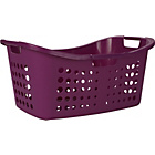 more details on ColourMatch Laundry Basket - Purple Fizz.