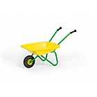 more details on Metal and Plastic Wheelbarrow Toy - Green and Yellow.