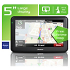 Binatone U505 5 Inch Sat Nav Lifetime Maps Uk & ROI