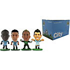 more details on Soccerstarz Manchester City 4 Pack Blister Box B.