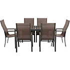 more details on Amalfi 6 Seater Patio Furniture Dining Set.