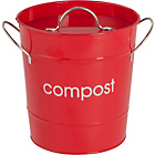 more details on Premier 7.5 Litre Food Waste Compost Bin - Red.