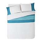 more details on Vinny Teal Twin Pack Bedding Set - Double.
