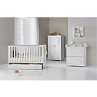 more details on BabyStart Delfina 3 Piece Nursery Set - White.