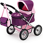 more details on Bayer Design Trendy Doll Pram - Mauve.