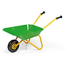 more details on Metal Toy Wheelbarrow - Green.