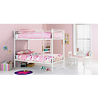 more details on Samuel Single Bunk Bed Frame - White.