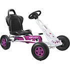 more details on Ferbedo Tourer t-1 Go kart - Pink & White.