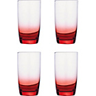 more details on Faded Red Glasses - 4 Hi-Ball Glasses.
