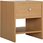 more details on HOME Seville Bedside Chest - Beech Effect.