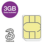 more details on Three 3GB Pay As You Go Data Sim – Nano.