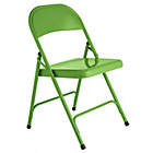 more details on Habitat Macadam Green Metal Folding Chair.